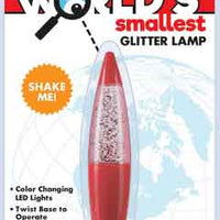 Worlds Smallest Spring Walker (by Westminster) glitter lamp