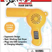 Worlds Smallest Spring Walker (by Westminster) hair dryer