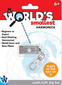 Worlds Smallest Harmonica (by Westminster)