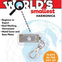 Worlds Smallest Spring Walker (by Westminster) Harmonica