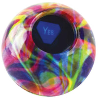 World's Smallest Tie Dye Magic 8 Ball answer
