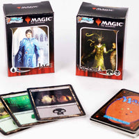 World's Smallest Magic The Gathering  Jace vs. Vraska Duel Decks in action