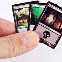 World's Smallest Magic The Gathering  Jace vs. Vraska Duel Decks in hand