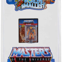 World's Smallest Masters of the Universe He-Man in package