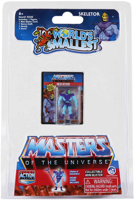 World's Smallest Masters of the Universe Micro Action Figures (Skeletor)
