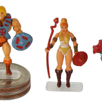 World's Smallest Masters of the Universe Micro Action Figures (Complete Set)