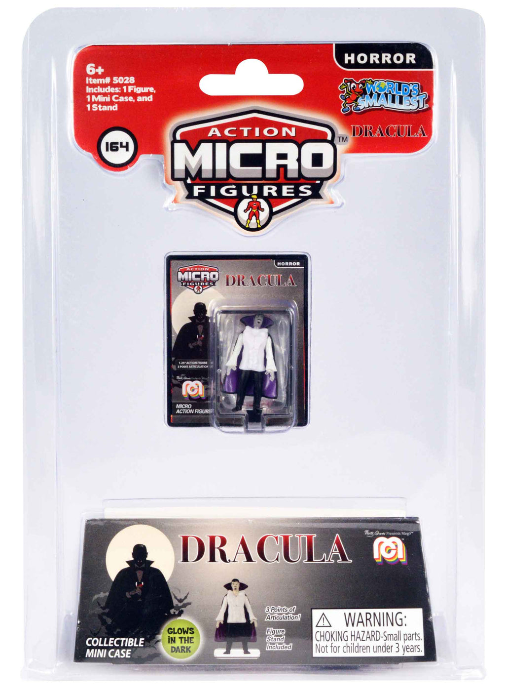 World's Smallest Mego Horror Micro Action Figures – (Dracula)