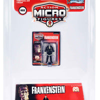 World's Smallest Mego Horror Micro Action Figures – Frankenstein in a package