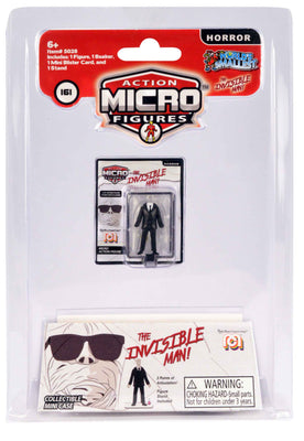 World's Smallest Mego Horror Micro Action Figures – (The Invisible Man)