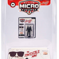 World's Smallest Mego Horror Micro Action Figures – the invisible man in a package
