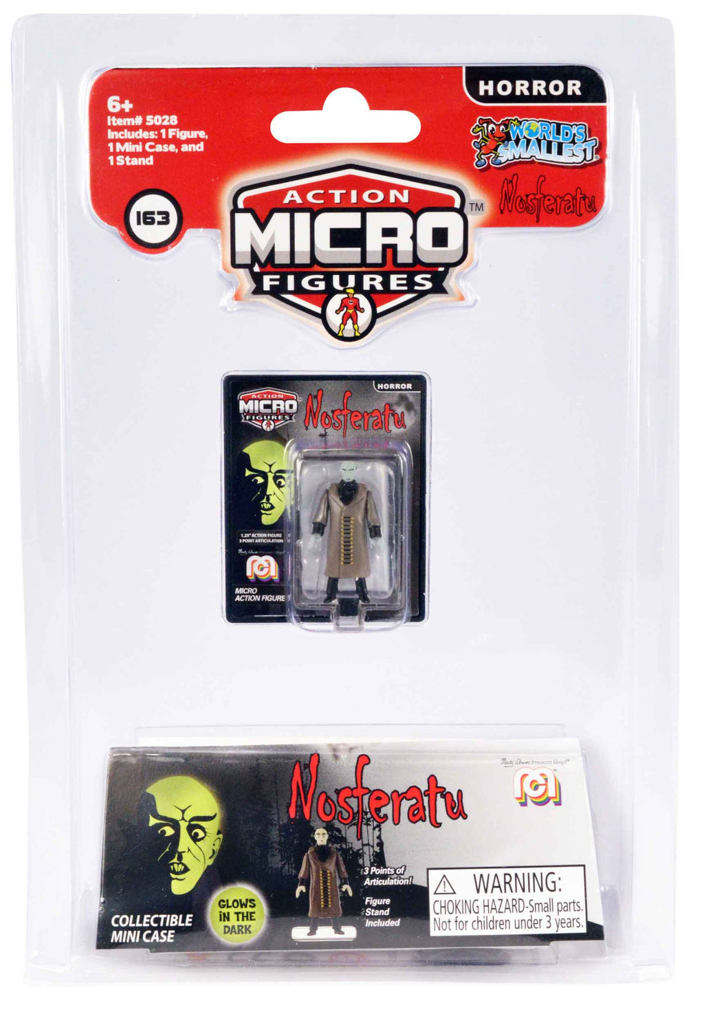World's Smallest Mego Horror Micro Action Figures – (Nosferatu)