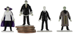 World's Smallest Mego Horror Micro Action Figures – (Dracula) complete set