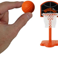 World's Smallest Nerf Basketball in hand