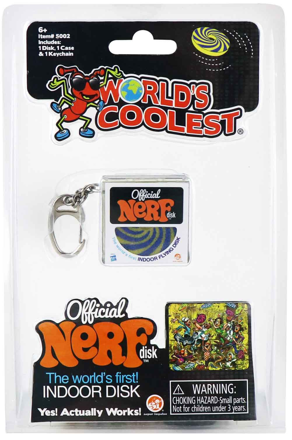 World's Coolest Official Nerf Disk