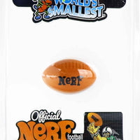 World's Smallest Nerf Football