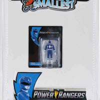 World's Smallest Power Ranger Action Figure - Blue