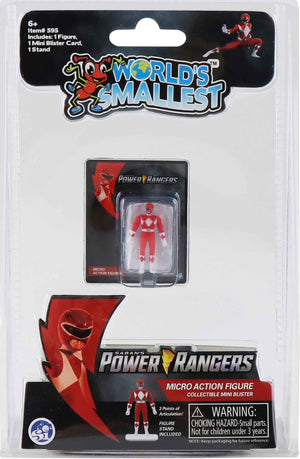 World's Smallest Power Ranger Action Figure - Pink