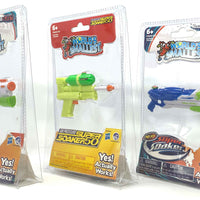 World's Smallest Super Soaker - Set of 3 - SS50, Barrage and Scatter Blast left side