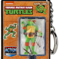World's Smallest Teenage Mutant Ninja Turtles Michelangelo keychain