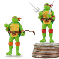 World's Smallest Teenage Mutant Ninja Turtles complete set