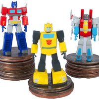 World Smallest Transformers Generation 1 - BumbleBee all three