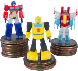 World Smallest Transformers Generation 1 - Optimus Prime all three