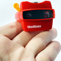 World's Smallest Fisher Price Viewmaster in hand