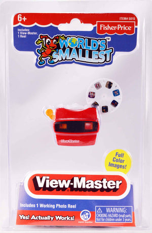 World's Smallest Fisher Price Viewmaster