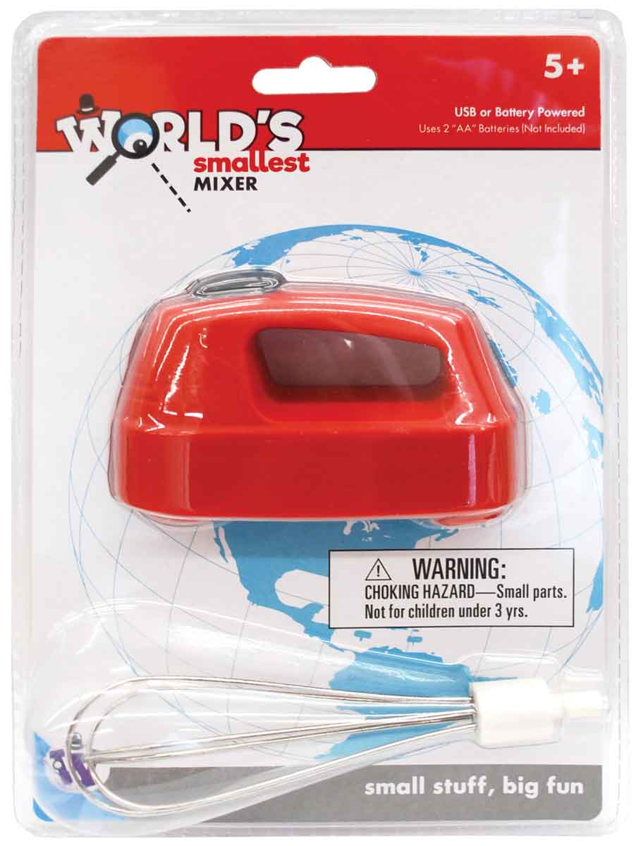 World Smallest Mixer (Cordless) Dual Powered - Battery or USB (by Westminter)