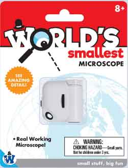 Worlds Smallest Microscope (by Westminster)