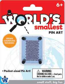 Worlds Smallest Pin Art (by Westminster)