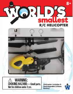 Worlds Smallest R/C helicopter (by Westminster)