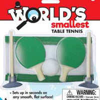Worlds Smallest table tennis game (by Westminster)