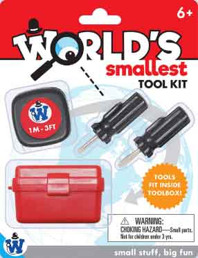 Worlds Smallest Tool Kit (by Westminster)