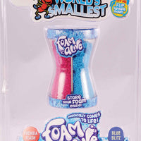 World's Smallest toys Foam Alive blue and red
