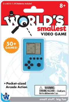 Worlds Smallest Video Game (by Westminster)