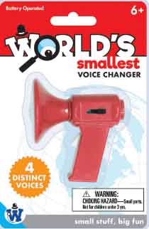 Worlds Smallest Voice Changer (by Westminster)