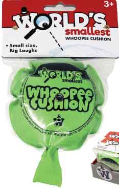 Worlds Smallest Whoopee Cushion (by Westminster) Random Colors
