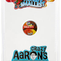 World's Smallest Crazy Aaron's Thinking Putty - Bundle of 3 firestorm