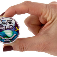 World's Smallest Crazy Aaron's Thinking Putty - Bundle of 3 World's Smallest Crazy Aaron's Thinking Putty - Bundle of 3 holdinfg the can