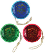 World's Smallest - Duncan Imperial Yo-Yo (Bundle of 3 - Blue, Red or Green)