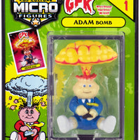 World's Smallest (GPK) Garbage Pail Kids (Adam Bomb) in action