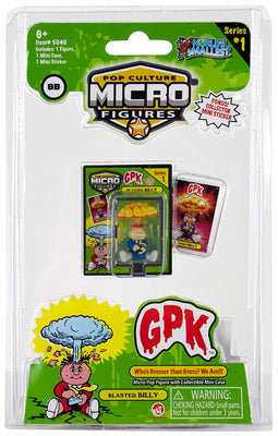World's Smallest (GPK) Garbage Pail Kids (Blasted Billy)