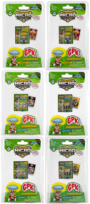 World's Smallest (GPK) Garbage Pail Kids (Bundle of 6)