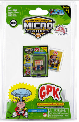 World's Smallest (GPK) Garbage Pail Kids (Geeky Gary)