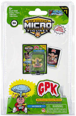 World's Smallest (GPK) Garbage Pail Kids (up CHUCK)