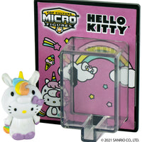 World's Smallest Hello Kitty® Pop Culture Micro Figures - Pink Cosplay Unicorn in action