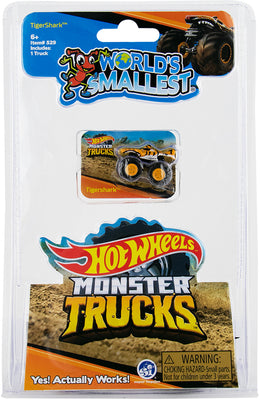 World's Smallest Hot Wheels Monster Trucks - Series 2 (Tigershark)