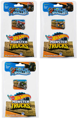 World's Smallest Hot Wheels Monster Trucks - Series 2 (Bundle of 3)