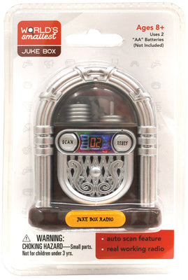 World Smallest Juke Box (by Westminter) in package